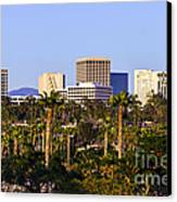 Orange County California Office Buildings Picture Canvas Print