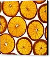 Orange Fresh Canvas Print by Vitaliy Gladkiy