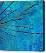 Orange Rays Canvas Print by Kenneth Feliciano