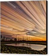 Orange Sky Canvas Print by Matt Molloy
