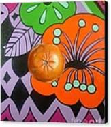 orange Sunshine Canvas Print by Shelley Laffal