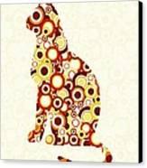 Orange Tabby - Animal Art Canvas Print by Anastasiya Malakhova
