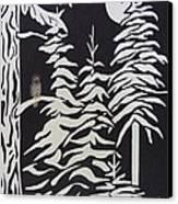 Oregon Forest Canvas Print by Estephy Sabin Figueroa