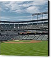 Oriole Park At Camden Yards Stadium Canvas Print by Susan Candelario