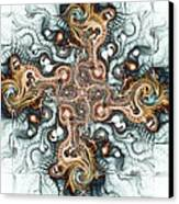 Ornate Cross Canvas Print by Anastasiya Malakhova