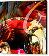 Orrefors Glass Reflecions Canvas Print