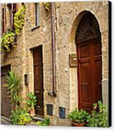 Orvieto Homes Canvas Print