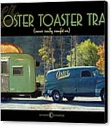 Oster Toaster Trailer Canvas Print by Tim Nyberg
