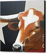 O'texas Canvas Print by David Ackerson