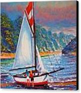 Blissful Moments - Inspired Canvas Print by Joseph   Ruff