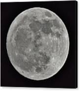 Our Moon Canvas Print by Thomas  MacPherson Jr