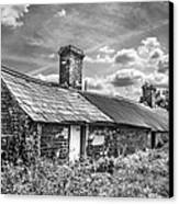 Outbuildings. Canvas Print by Gary Gillette