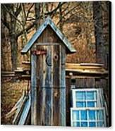 Outhouse - 5 Canvas Print by Paul Ward