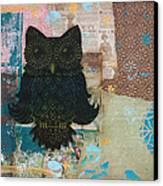 Owl Of Wisdom Canvas Print