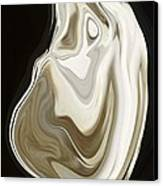 Oyster Shell No 3 Canvas Print by Chad Miller