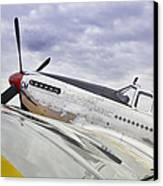P51 Mustang Canvas Print by M K  Miller