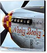 P51's Heart Canvas Print by Remy NININ