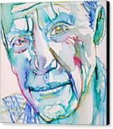 Pablo Picasso- Portrait Canvas Print by Fabrizio Cassetta