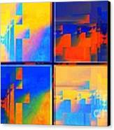 Pace---guera Canvas Print by Halina Nechyporuk