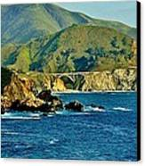 Pacific Coast Panorama Canvas Print by Benjamin Yeager