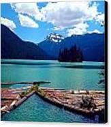 Packwood Lake Canvas Print by Whitney Nanamkin