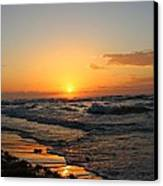 Padre Sunrise Canvas Print