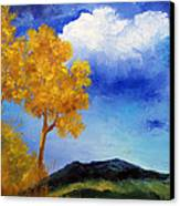 Paesaggio Canvas Print by Niki Mastromonaco
