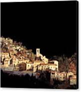 Paesaggio Scuro Canvas Print