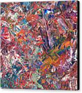 Paint Number 50 Canvas Print by James W Johnson