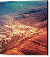 Painted Earth Canvas Print