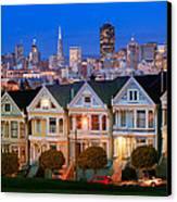 Painted Ladies Canvas Print by Inge Johnsson