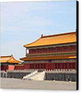 Palace Forbidden City In Beijing Canvas Print