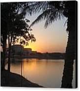 Palace Sunset Canvas Print