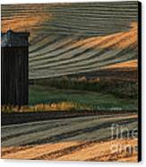 Palouse Sunset Canvas Print by Sandra Bronstein