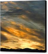 Panamint Sunset Canvas Print