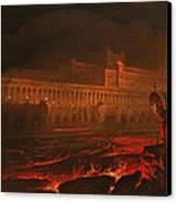 Pandemonium Canvas Print by John Martin
