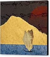 Paper Sail Canvas Print by Carol Leigh
