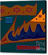 Paphababha Canvas Print by Meenal C