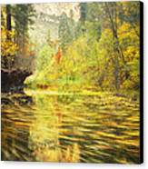 Parade Of Autumn Canvas Print
