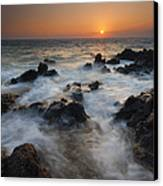 Paradise Flow Canvas Print by Mike  Dawson