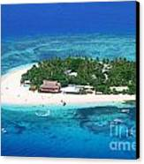 Paradise Island In South Sea IIi Canvas Print by Lars Ruecker