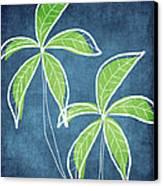 Paradise Palm Trees Canvas Print