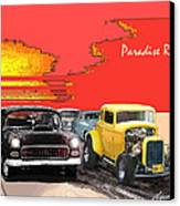 Paradise Road Canvas Print by Barry Cleveland