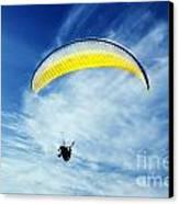 Paraglider Canvas Print