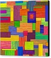 Parallelograms Canvas Print