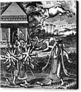 Parasurama, Sixth Avatar Of Vishnu Canvas Print