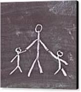 Parent And Children Canvas Print by Tom Gowanlock
