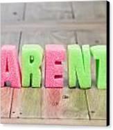 Parents Canvas Print by Tom Gowanlock