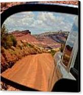 Paria In My Rearview Canvas Print by Carrie Putz