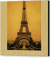 Paris 1889  Canvas Print by Andrew Fare